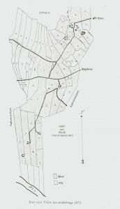 Kart over Velve før utskiftinga 1873