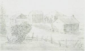 Haugen tegnel 1885 av ing. Alstad.