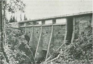 Sørungen dam.