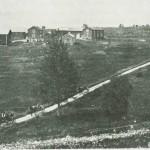 Skysstasjonen Fuglem i 1880-åra.