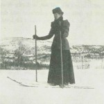 Skisport anno 1900.