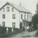 «Sanatoriet» i Kvellohaugen ca. 1890. Foto E. Jenssen