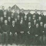Amt skolen 1887/88. Foto E. Jenssen