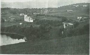 Mebonden i 1890-åra. Foto E. Jenssen