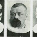 Fra v. P.V. Deinboll. H.W. Domaas. S.E. Erichsen.
