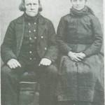 Erik Olsen og Goro Tomasdt. Langli omkring 1880.
