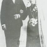 Sivert og Ingeborg Eggen som brurfolk.
