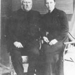 Arnt Olsen Berge og andre kona, Brynhild Olsdt.