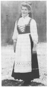 Anne Olsdt. tok over Øråsen etter foreldra, etter at hun ble gift med Peder Grimsen Rønsberg.