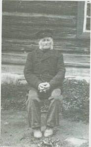 Gunnar Persen som åttiårinG. i hans tid var ennå Skultrøa husmannsplass.