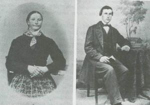 Kari Sesseng, f. Flønes og Ingebrigt H. Sesseng