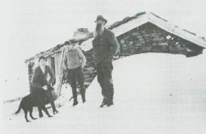Paul Birch på jakt i Kvernfjellet.