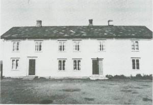 Våningshuset på Kvello er bygd i 1788.