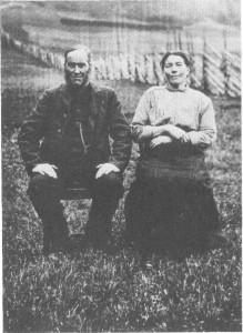 Iver Eliassen og Ane Jonsdt. Mebust.