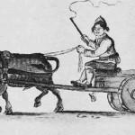 Malmkjørerdreng ved Roros. Etter tegning av J.F.L. Dreier.