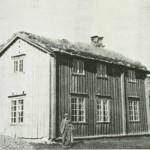 Værbusbakken skole. Foto: O. Engen.