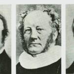 Fra. v. H.E. Sandborg.   H.H. Tybring   A.B. Hansteen.
