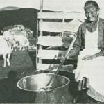 Sigrid Gulseth på Nyvollen 1934. Foto: Garberg.