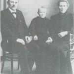 John Tomassen og Ingeborg Olsdt. Borseth og sønnen Tomas.
