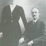 Mali Halvorsdt. og Ole Gunnarsen Hofsmo var tredje generasjon på bruket.