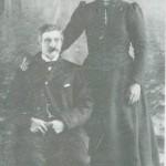 Arnt Haldorsen og Gjertrud Persdt. Kvello.