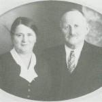 Marie Petersdt. og Peder Olsen Haave.